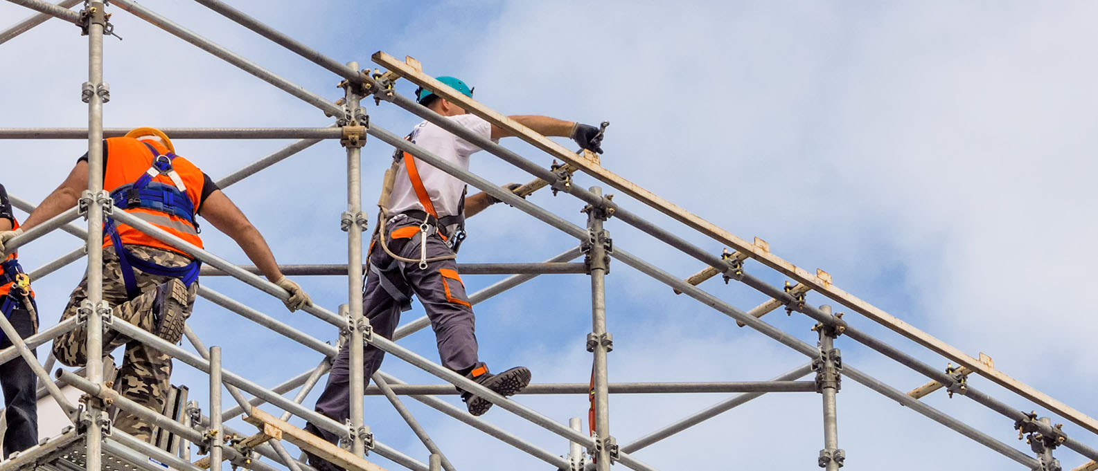 where a scaffolding company providing scaffolding services throughout Greater London and Surrey